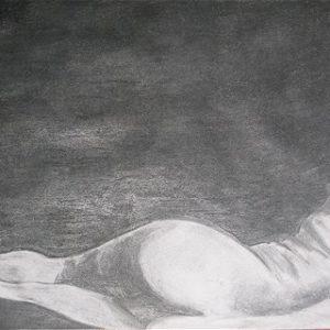 """""""Balletdanser I"""" - Grafiet op papier - 40 x 32 cm"""