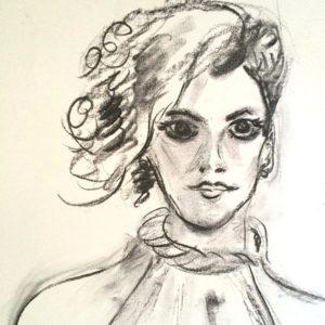 """Portret schets"""