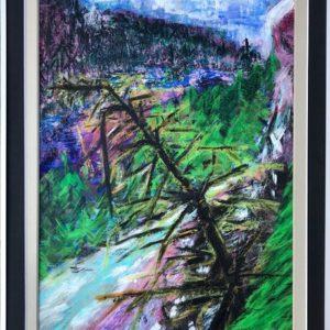 """Cape Breton Canada""  -  Gemengde techniek - 50 x 70 cm"