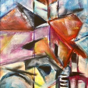 """'Molen I"""" - Acryl op doek - 40 x 60 cm"""
